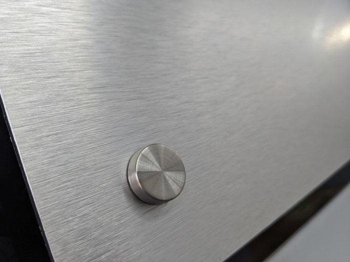 Brushed Silver Dibond