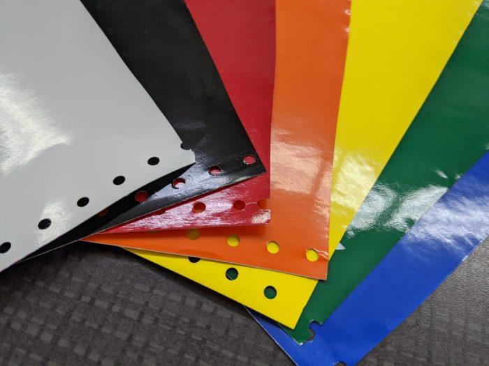 Spot Color Vinyl