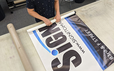 Taking Care of Your New Vinyl Banner
